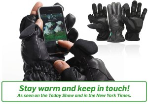 freehands iphone glove