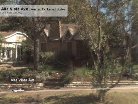 My new house in Austin