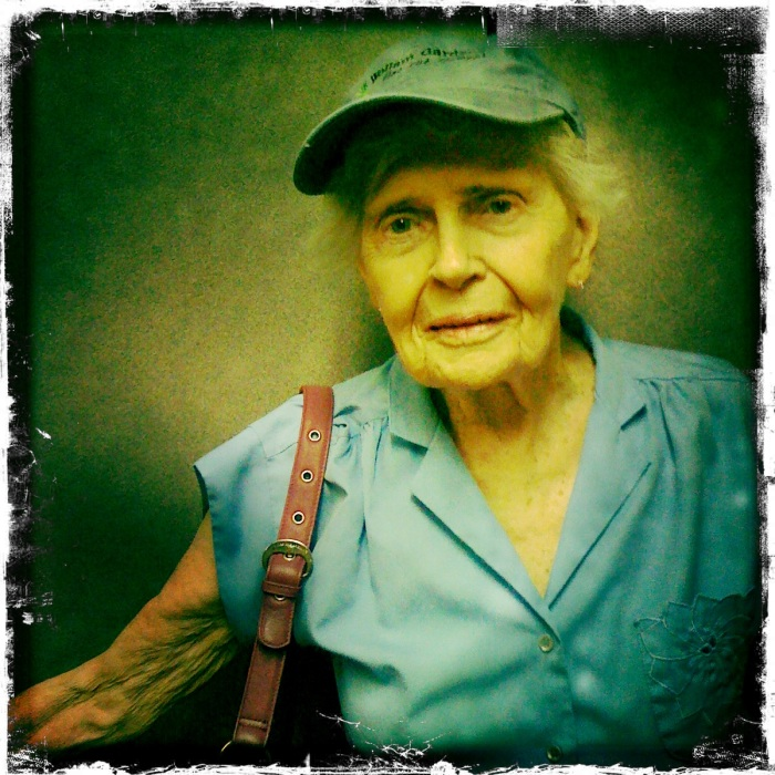 Here's a photo from June 2010 of my grandmother. This was two months before she was diagnosed with lung cancer.